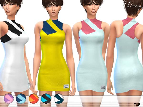 Sims 4 Mesh Dress by ekinege at TSR