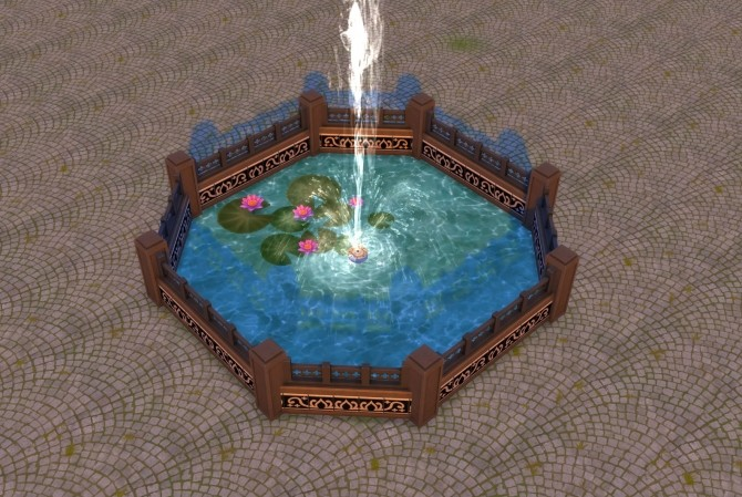 Sims 4 Water Unbound II Pool Water Floor by Snowhaze at Mod The Sims