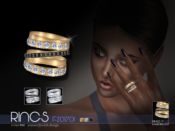 RINGS F 201701 by S Club WM at TSR image 710 Sims 4 Updates