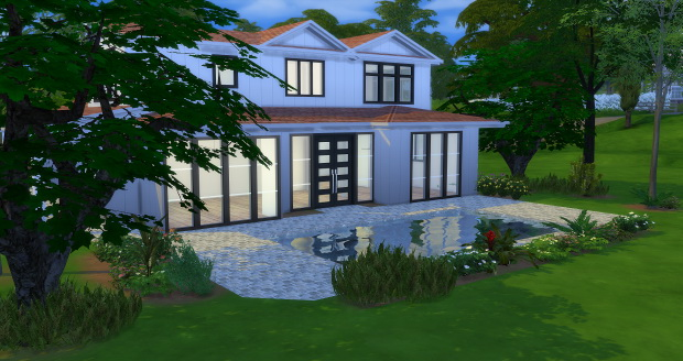6610 Oak Drive house at AymiasSims image 7318 Sims 4 Updates