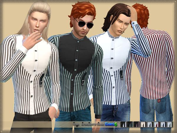 Shirt Collar Stand by bukovka at TSR image 7411 Sims 4 Updates