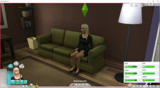 Sims 4 Power Napping on Sofas by LittleMsSam