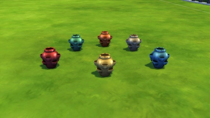 Glazed Pocket Vase by Snowhaze at Mod The Sims image 753 670x377 Sims 4 Updates