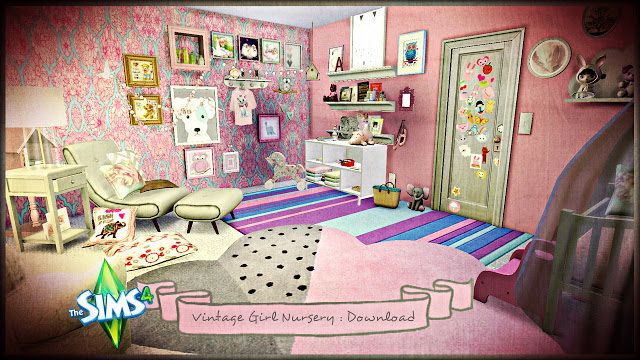 Vintage Girl Nursery at Pandasht Productions image 754 Sims 4 Updates