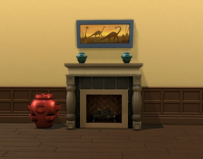 Glazed Pocket Vase by Snowhaze at Mod The Sims image 764 670x525 Sims 4 Updates