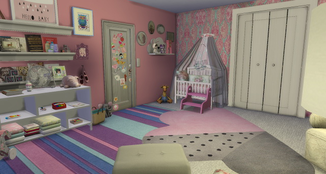 Vintage Girl Nursery at Pandasht Productions image 765 Sims 4 Updates