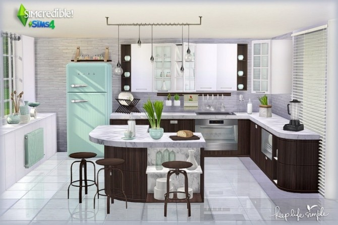 Keep Life Simple kitchen (Pay) at SIMcredible! Designs 4 image 772 670x446 Sims 4 Updates