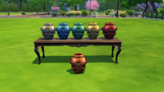 Glazed Pocket Vase by Snowhaze at Mod The Sims image 774 670x377 Sims 4 Updates