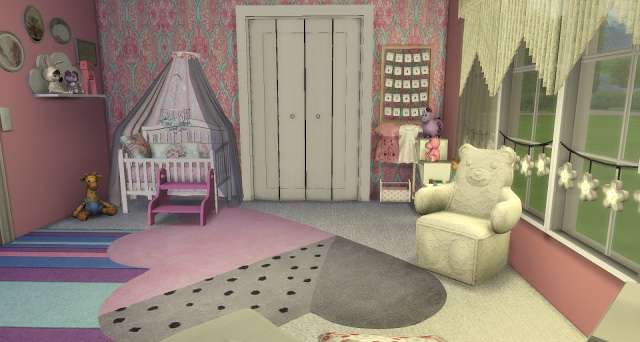 Vintage Girl Nursery at Pandasht Productions image 775 Sims 4 Updates