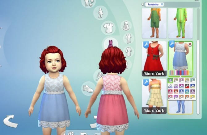 Frowning Dress at My Stuff image 776 670x438 Sims 4 Updates