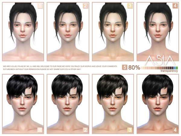 ASIAN skintones 3.0 all ages by S Club WMLL at TSR image 7810 Sims 4 Updates