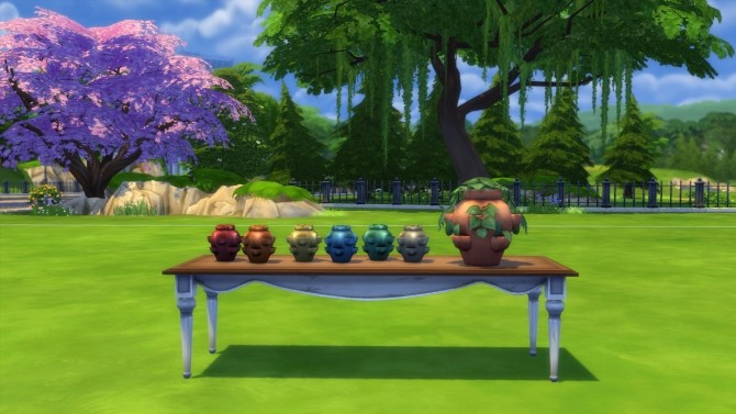 Glazed Pocket Vase by Snowhaze at Mod The Sims image 784 670x377 Sims 4 Updates