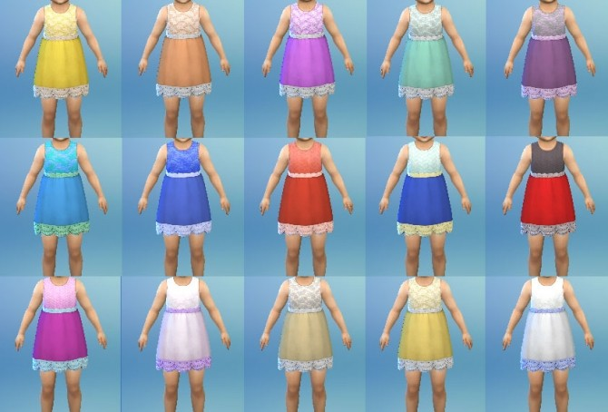 Frowning Dress at My Stuff image 786 670x454 Sims 4 Updates