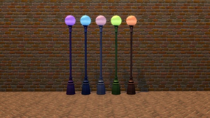 Garden Globe Lamps by Snowhaze at Mod The Sims image 7910 670x377 Sims 4 Updates
