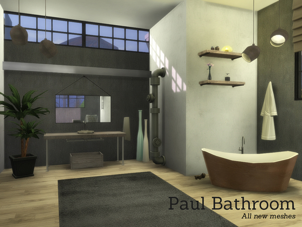 Paul Bathroom by Angela at TSR image 8010 Sims 4 Updates