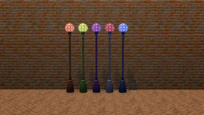Garden Globe Lamps by Snowhaze at Mod The Sims image 8012 670x377 Sims 4 Updates