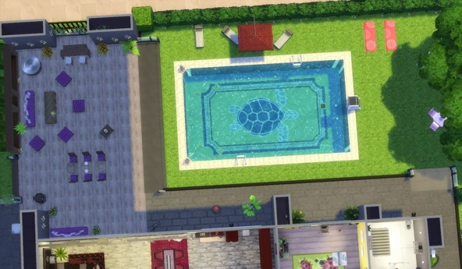 Sims 4 Idealist Villa by patty3060 at Mod The Sims