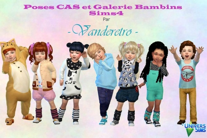 Face Poses toddler CAS and GALLERY by Vanderetro at L'UniverSims image 805 670x447 Sims 4 Updates