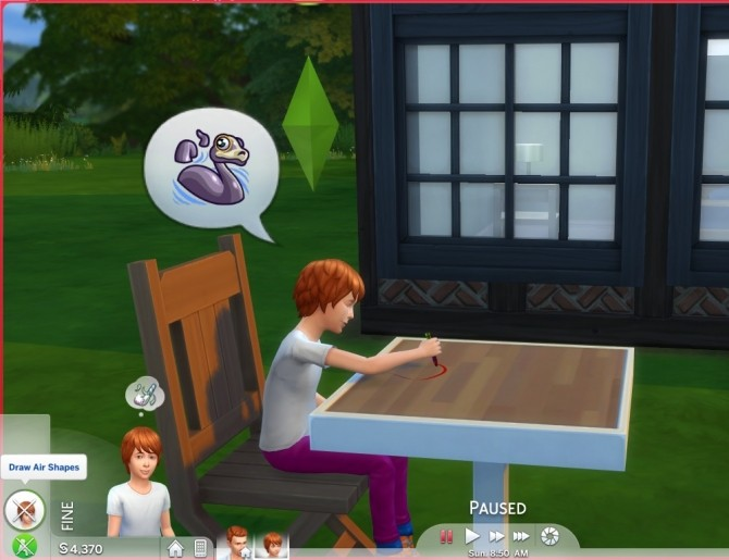 Sims 4 Child Play Interactions Fake Cry and Draw Air Shapes by CardTaken at Mod The Sims
