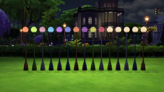 Garden Globe Lamps by Snowhaze at Mod The Sims image 8117 670x377 Sims 4 Updates