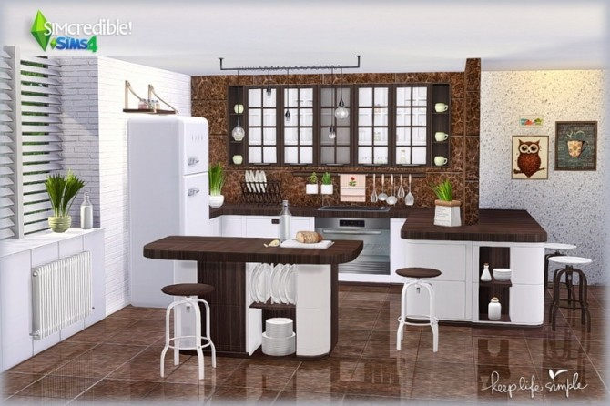 Keep Life Simple kitchen (Pay) at SIMcredible! Designs 4 image 812 670x446 Sims 4 Updates