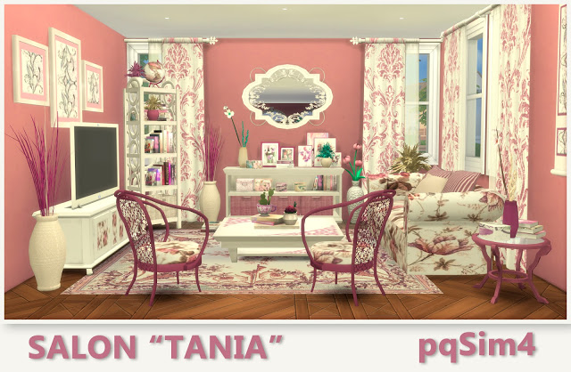 Tania livingroom by Mary Jiménez at pqSims4 image 819 Sims 4 Updates