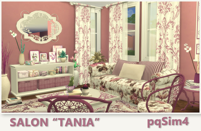 Tania livingroom by Mary Jiménez at pqSims4 image 825 Sims 4 Updates