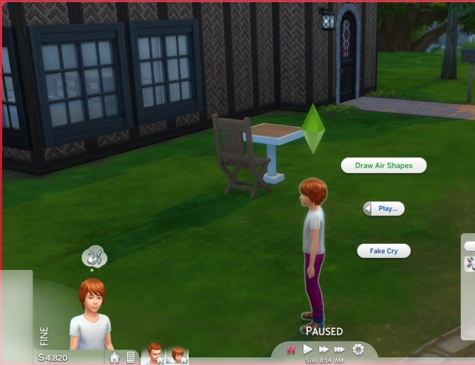 Child Play Interactions Fake Cry and Draw Air Shapes by CardTaken at Mod The Sims image 839 670x515 Sims 4 Updates