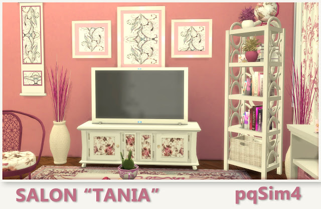Tania livingroom by Mary Jiménez at pqSims4 image 846 Sims 4 Updates