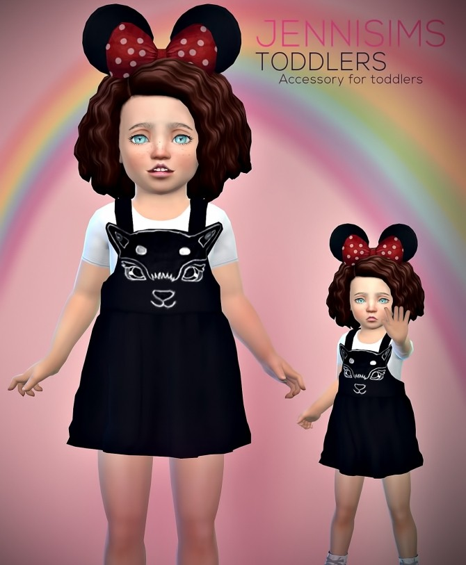 Toddlers Minnie Mouse Ears at Jenni Sims image 854 670x813 Sims 4 Updates
