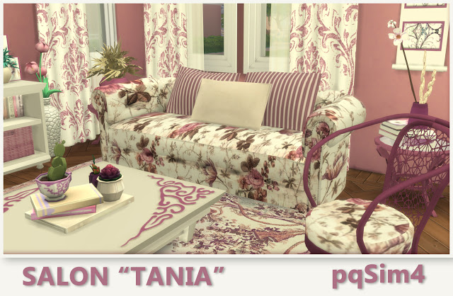 Tania livingroom by Mary Jiménez at pqSims4 image 856 Sims 4 Updates