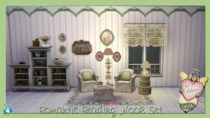 ROMANTIC READING NOOK SET at Alelore Sims Blog image 88 670x377 Sims 4 Updates