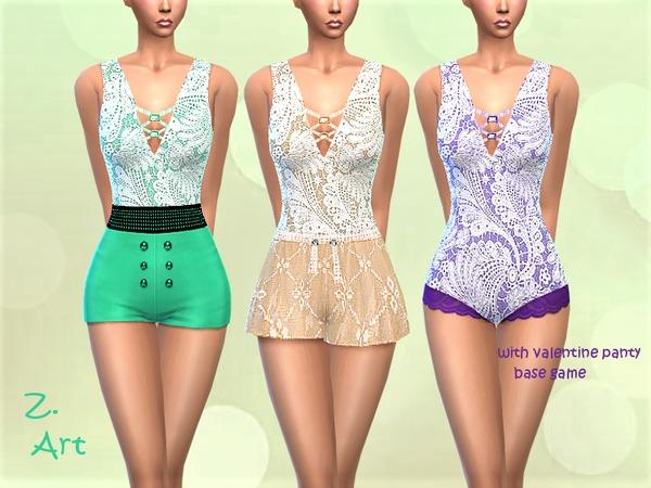 Sims 4 Bodyform IV by Zuckerschnute20 at TSR
