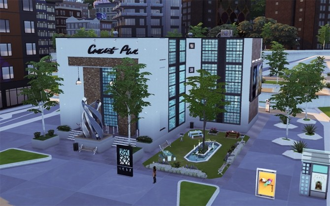 Contemporary Arts Center by Flash at Sims Artists image 886 670x419 Sims 4 Updates
