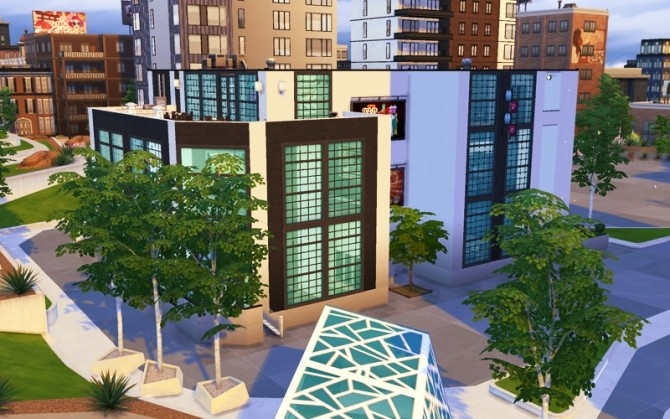 Contemporary Arts Center by Flash at Sims Artists image 896 670x419 Sims 4 Updates