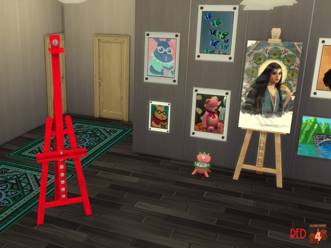E.A.S.L. Easel 10 Recolours by wendy35pearly at Mod The Sims image 901 670x501 Sims 4 Updates