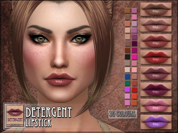 Detergent Lipstick by RemusSirion at TSR image 9011 Sims 4 Updates