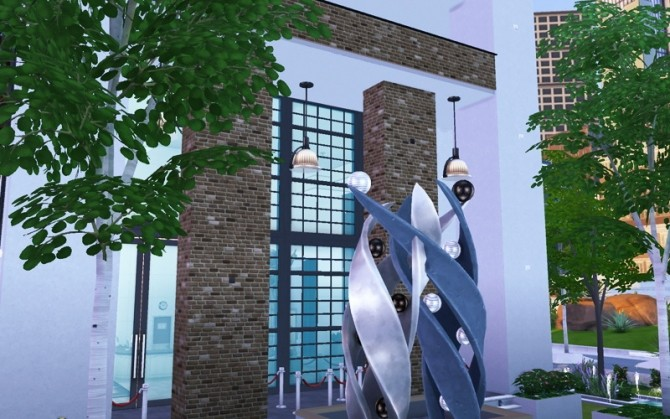 Contemporary Arts Center by Flash at Sims Artists image 906 670x419 Sims 4 Updates