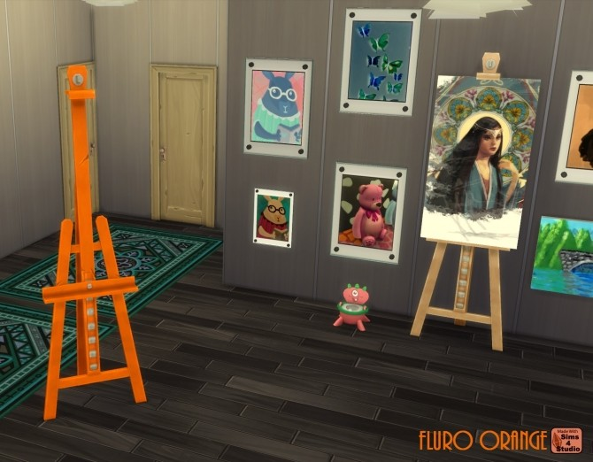 E.A.S.L. Easel 10 Recolours by wendy35pearly at Mod The Sims image 911 670x522 Sims 4 Updates