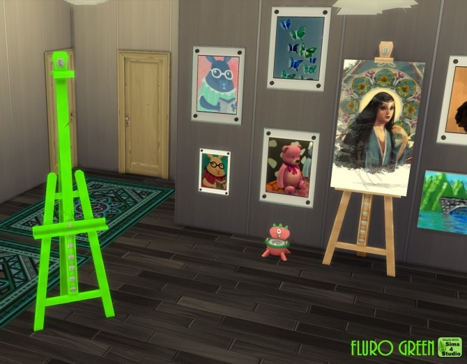 E.A.S.L. Easel 10 Recolours by wendy35pearly at Mod The Sims image 921 670x522 Sims 4 Updates