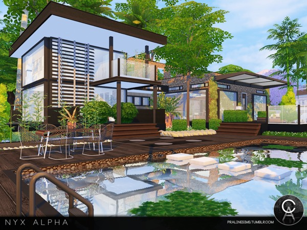 Nyx Alpha house by Pralinesims at TSR image 9213 Sims 4 Updates