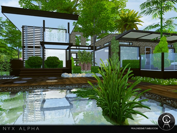 Nyx Alpha house by Pralinesims at TSR image 9311 Sims 4 Updates