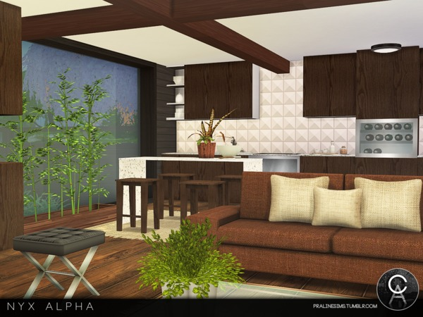 Nyx Alpha house by Pralinesims at TSR image 9411 Sims 4 Updates