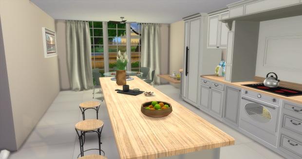 Sims 4 Traditional Kitchen & Dining at AymiasSims
