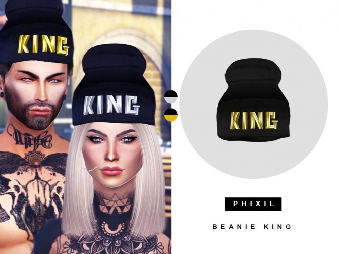 Beanie king at Phixil Sims image 9810 670x503 Sims 4 Updates