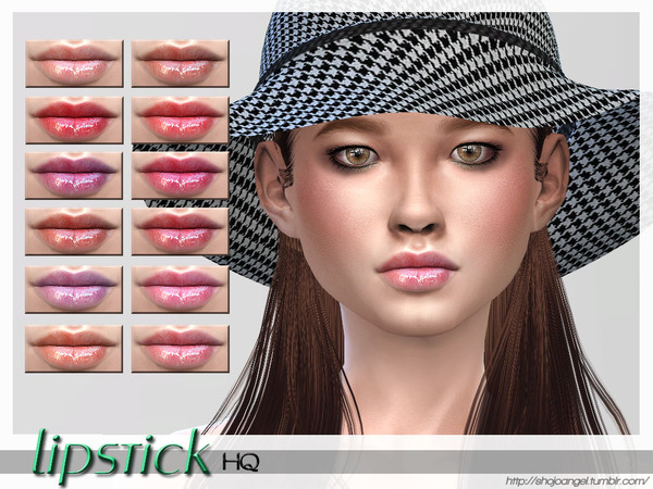Lips Set 34 by ShojoAngel at TSR image 9813 Sims 4 Updates