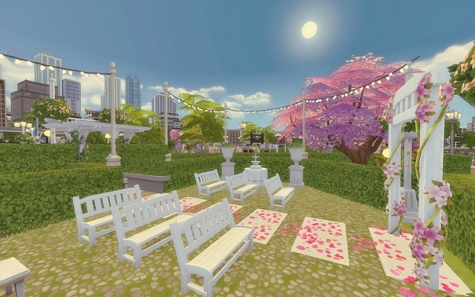 Downtown Park at Via Sims image 983 670x419 Sims 4 Updates