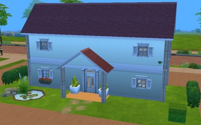 Sims 4 Home For Two Dollhouse Replica by starstrucksh at Mod The Sims