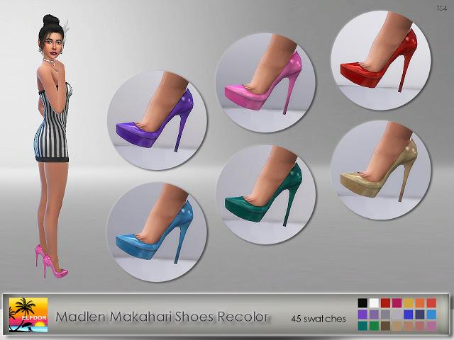 Madlen Makahari Shoes at Elfdor Sims image 1048 Sims 4 Updates