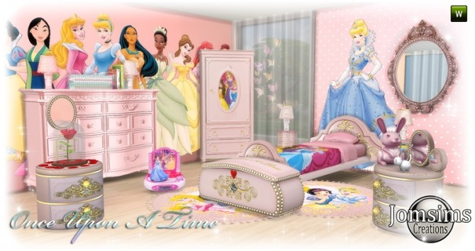Once Upon a time kidsroom at Jomsims Creations image 10710 670x355 Sims 4 Updates